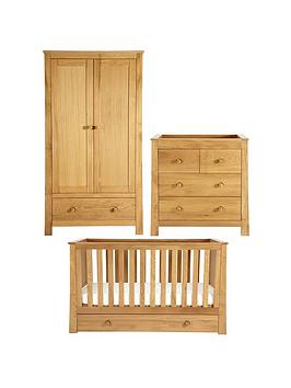 mamas-papas-osborne-cot-bed-dresser-amp-wardrobe-furniture-set