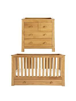 Mamas & Papas Osborne Cot Bed &Amp Dresser Set