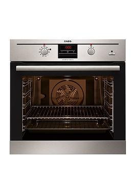 Aeg Bp300306Km Electric BuiltIn Single Oven With Steam Function  Stainless Steel
