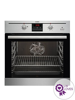 aeg-bc330352km-built-in-electric-single-oven-stainless-steel