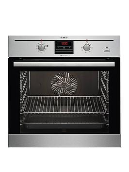Aeg Bc330352Km BuiltIn Electric Single Oven  Stainless Steel