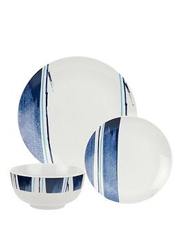 Royal Worcester Worcester Essentials Brighton Blue 12 Piece Dinner Set