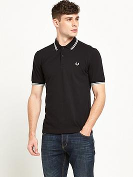 fred-perry-mens-original-twin-tipped-polo-black-porcelain
