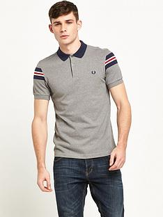 fred-perry-bomber-sleeve-polo