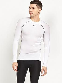 Under Armour Under Armour Heatgear&Reg; Long Sleeve Tee - White Picture