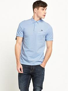 fred-perry-woven-trim-polo