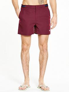 fred-perry-bomber-tape-swim-shorts