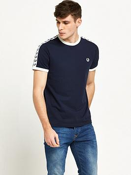 ... Fred Perry Sports Authentic Taped Ringer T-Shirt littlewood best  service f705c b8abd ... fe8c243330e5