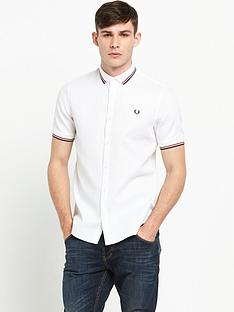 fred-perry-twin-tipped-waffle-short-sleeve-shirt