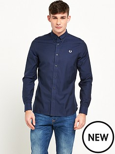 fred-perry-classic-twill-long-sleeve-shirt