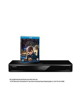 Panasonic DmpUb700Ebk Smart 4K Ultra Hd 3D BluRay Player Includes Fantastic Beasts And Where To Find Them On Ultra Hd BluRay Disc While Stocks Last.