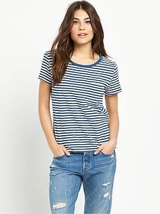 levis-perfect-pocket-t-shirt-indigo-stripe