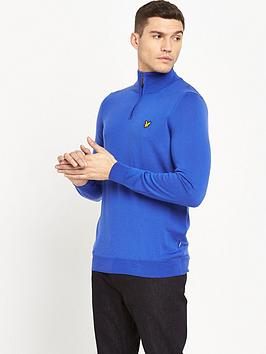 Lyle & Scott Lyle And Scott Golf Mens Tolmount 14 Zip Jumper