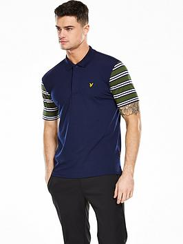 Lyle & Scott Lyle And Scott Golf Mens Dufftown Polo