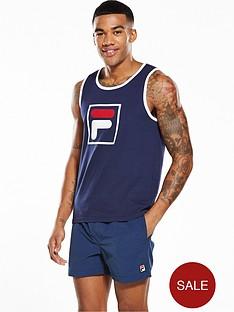 fila-f-box-woven-transfer-vest-top