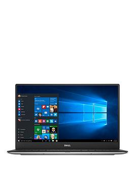 Dell Xps 13 With 13.3 Inch Full Hd Infinityedge Display Intel&Reg Core&Trade I5 7Th Gen 8Gb Ram 256Gb Ssd Laptop  Aluminium Silver  Laptop Only