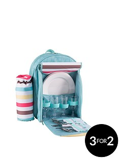 summerhouse-by-navigate-sweet-summer-days-4-person-picnic-set-with-bottle-holder