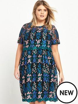 ri-plus-floral-mesh-midi-dress