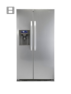 hotpoint-sxbd922fwd-frost-free-usa-style-fridge-freezer-stainless-steel