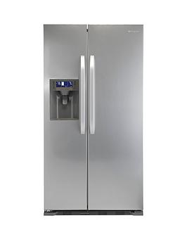 Hotpoint Sxbd922Fwd Frost Free Usa Style Fridge Freezer  Stainless Steel
