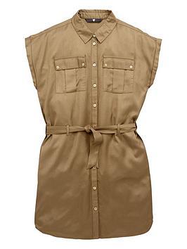 V By Very Utility Shirt Dress