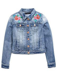 v-by-very-girls-embroidered-denim-jacket