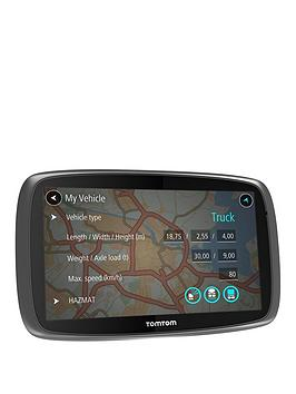 Tomtom Trucker 6000 Lifetime Traffic Edition Sat Nav