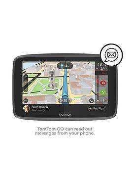 tomtom go 6200 sat nav with world maps. Black Bedroom Furniture Sets. Home Design Ideas