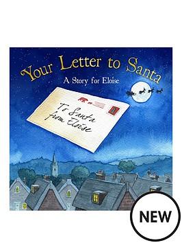 personalised-your-letter-to-santanbspsoftbacknbspbook