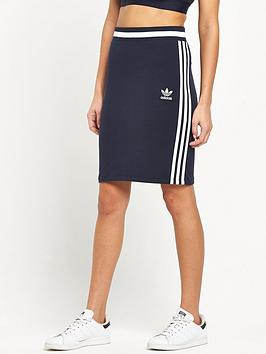 Adidas Originals 3 Stripes London Midi Skirt