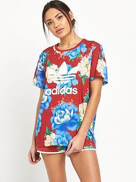 Adidas Originals Chita Oriental Boyfriend Trefoil Tee