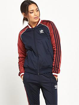 Adidas Originals London Superstar Track Top  Navy