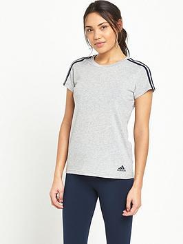 Adidas Essentials 3S Slim TShirt
