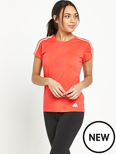 adidas-3-stripe-slim-t-shirt
