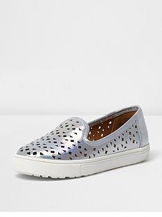 river-island-girls-laser-cut-iridescentnbspplimsolls