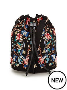miss-selfridge-embroided-bag