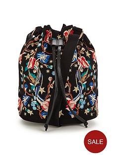 miss-selfridge-embroidered-bag