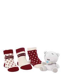 me-to-you-tiny-tatty-teddy-3-socks-set-with-bear