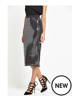 river-island-jersey-metallic-midi-skirt