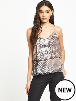 river-island-river-island-printed-double-layer-cami-top