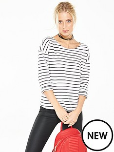v-by-very-stripe-roll-cuff-sweat