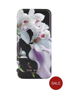 ted-baker-ethereal-posie-mirror-folio-case-for-iphone-67-black