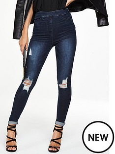 v-by-very-petite-charley-high-waist-side-zip-jegging