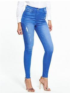 v-by-very-petite-ella-high-waist-rip-skinny-jean