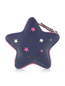 Radley Night Shift Small Star Coin Purse  Navy