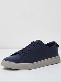 river-island-mens-perforated-trainer