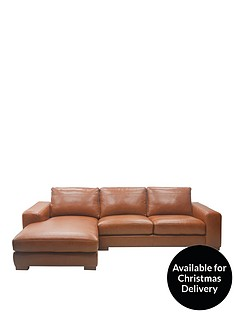 clyde-3-seater-left-hand-premium-leather-chaise-sofa