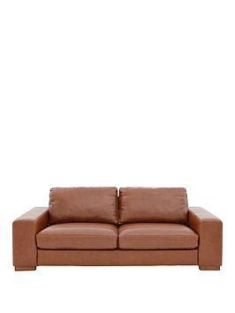 Clyde 3Seater Premium Leather Sofa
