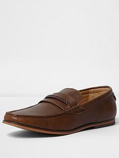 river-island-trev-braided-loafer