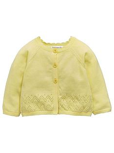 ladybird-baby-girls-cardigan-ndash-yellow
